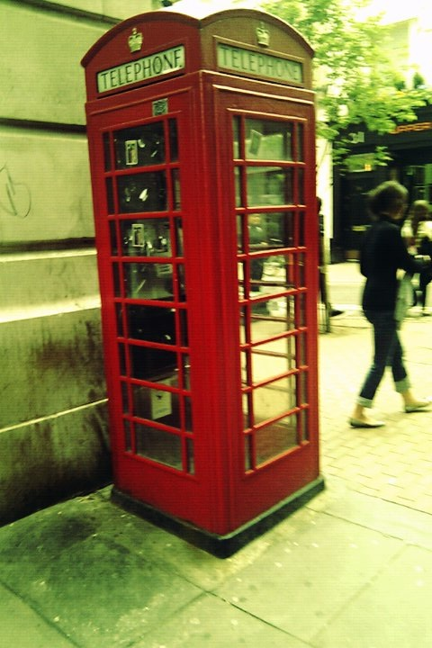 Classic Telephone Box, London, Frenchy a Londres