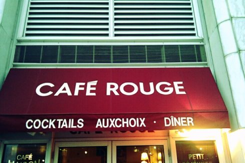 French touch 1 Cafe rouge london Frenchy a Londres