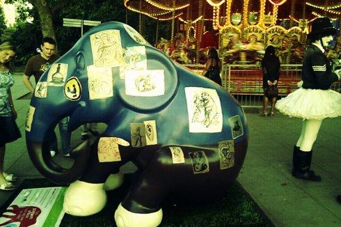 Elephant in London