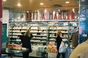 pret a manger londres, Frenchy a londres