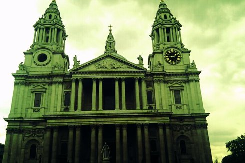 Saint Paul's Cathedral, Frenchy a Londres