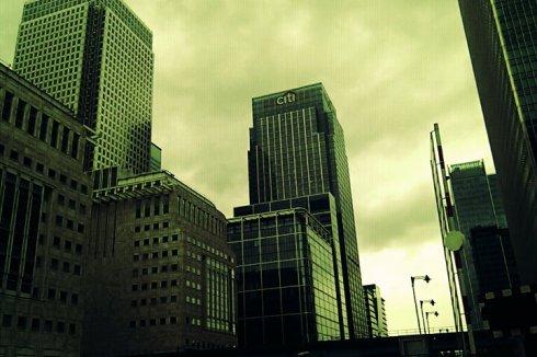 Vue du Centre financier de Canary Wharf-Londres-Frenchy a Londres