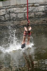 Bungee jump fail