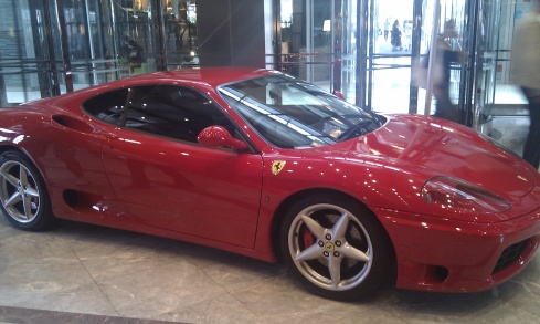 Motor Expo Canary Wharf Ferrari