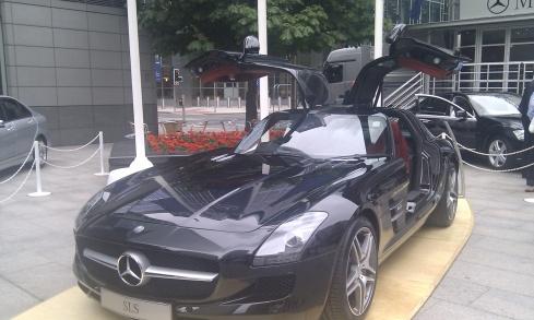 Motor Expo mercedes SLS