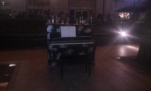 Piano en plein air