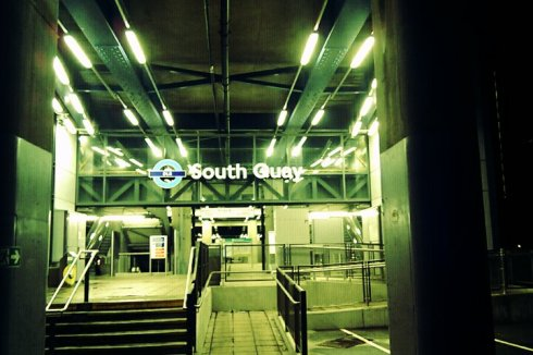 South Quay DLR station