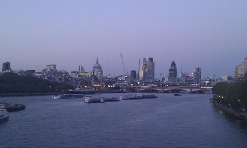 Vue du centre de Londres