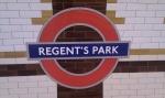 Regents Park sign