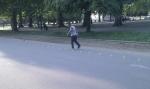 Roller a Hyde park